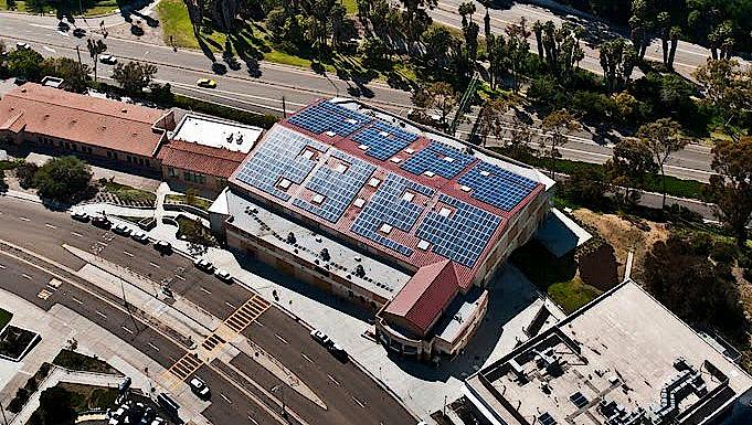 San Diego Community College District Borrego Solar