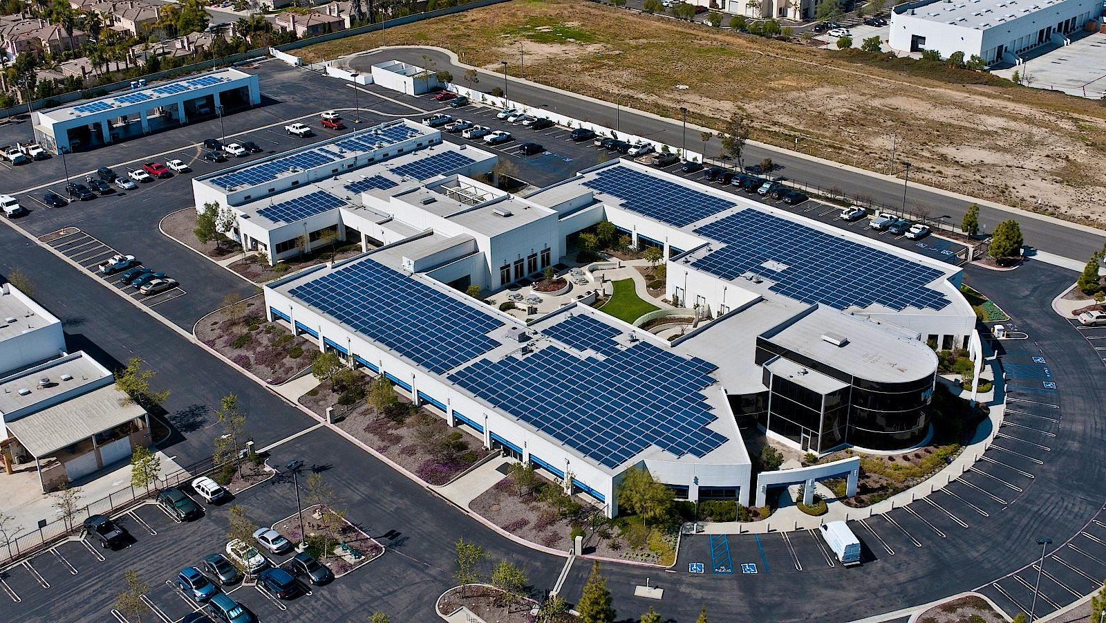 Vista Irrigation District Solar Project Borrego Solar