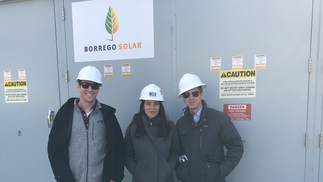 Ilan and Team At BELD Smart Energy Storage Project