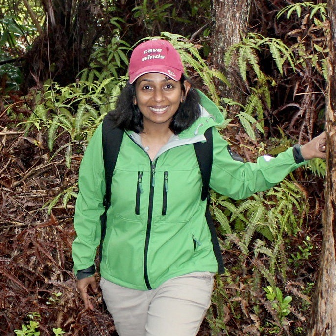Malini Balakrishnan in nature